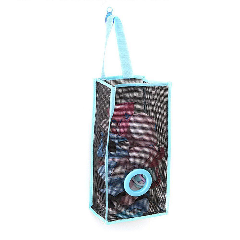 Pouch PVC Garbage  Kitchen Shopping  Foldable Bags Storage Bag Breathable Mesh
