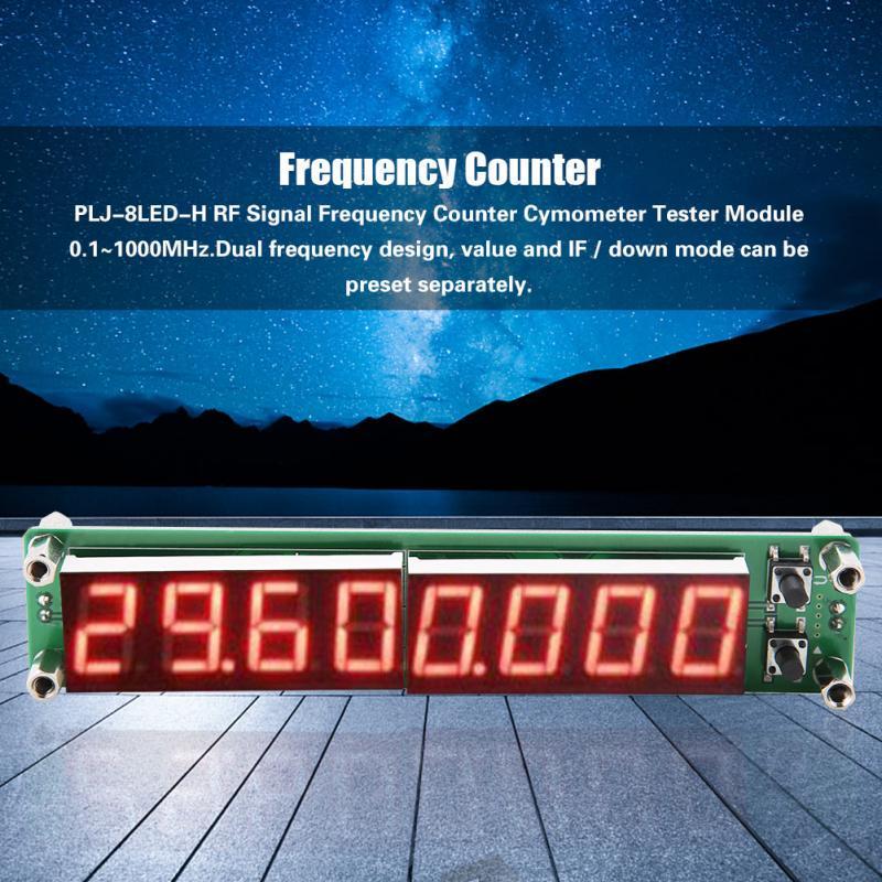 Contatore Frequenza del Segnale Misuratore Cymometer Display Digitale Modulo