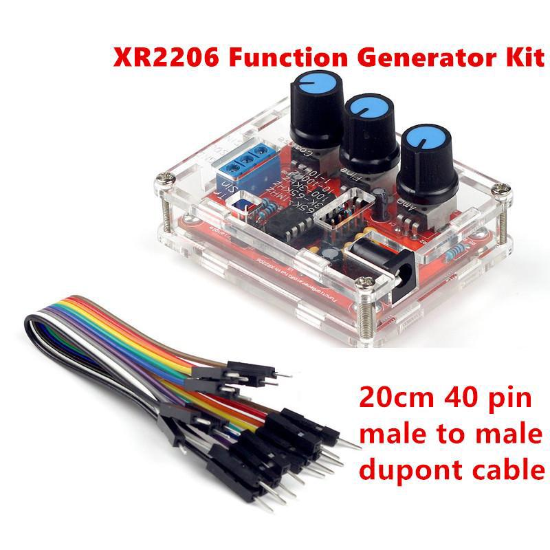 XR2206 High Precision Function Signal Generator 1HZ-1MHZ Adjustable Frequency*