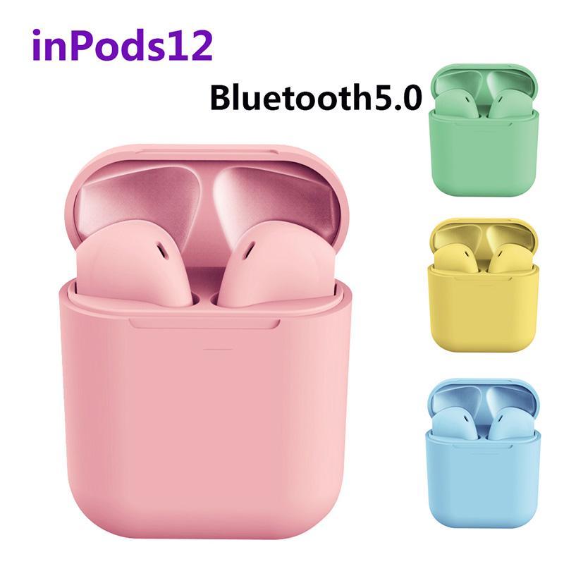 InPods 12 Wireless Headphones Bluetooth 5.0 Wireless Earphones Mini Headset  Earbuds for Smart Phones - buy from 10$ on Joom e-commerce platform
