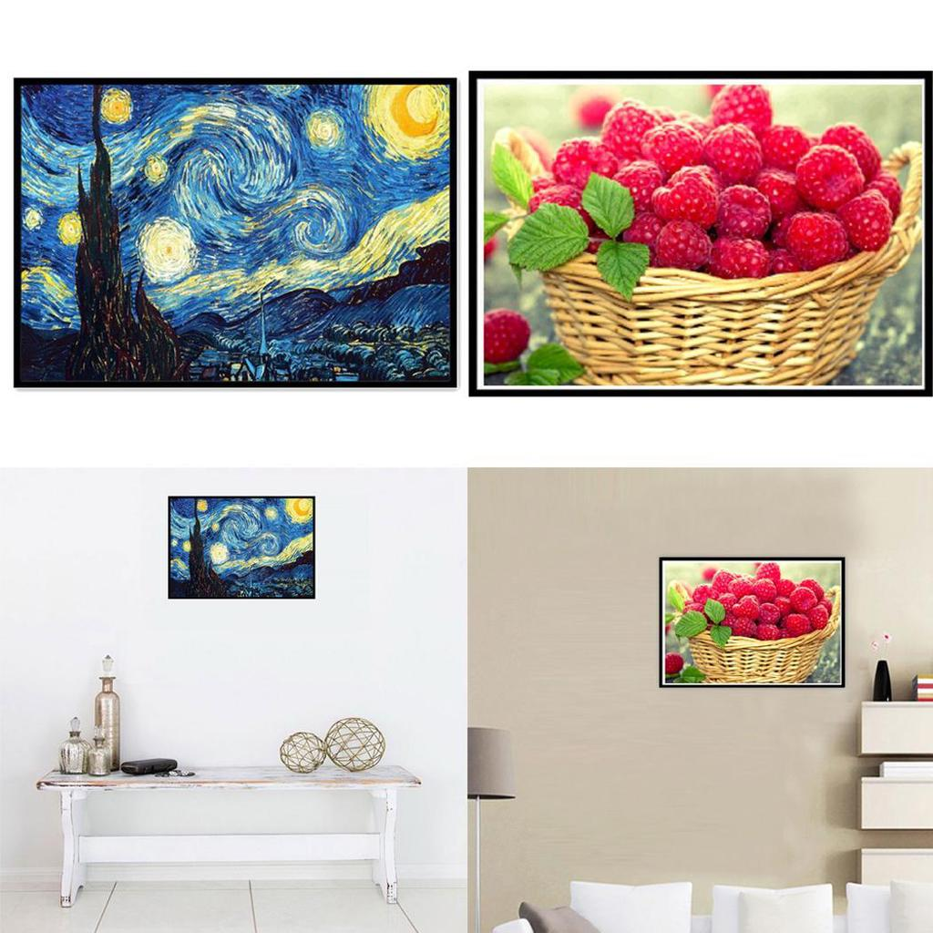 Crystal Rhinestone Diamond Embroidery Paintings Great for Home 5D DIY Round Diamond Number Kits with Full Drill Diamond Painting Kits for Adults Office Wall Decor 11.8/×11.8 Inch Sunflower