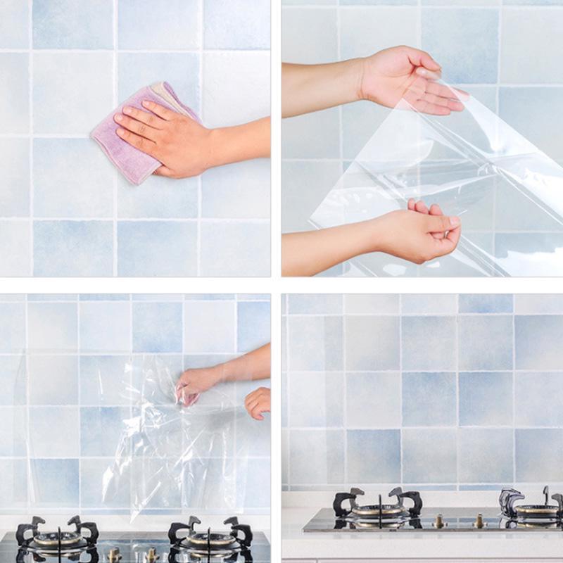 Self Adhesive Mosaic Brick Tile 3D Sticker Kitchen Bathroom Toilet Wall Stickers