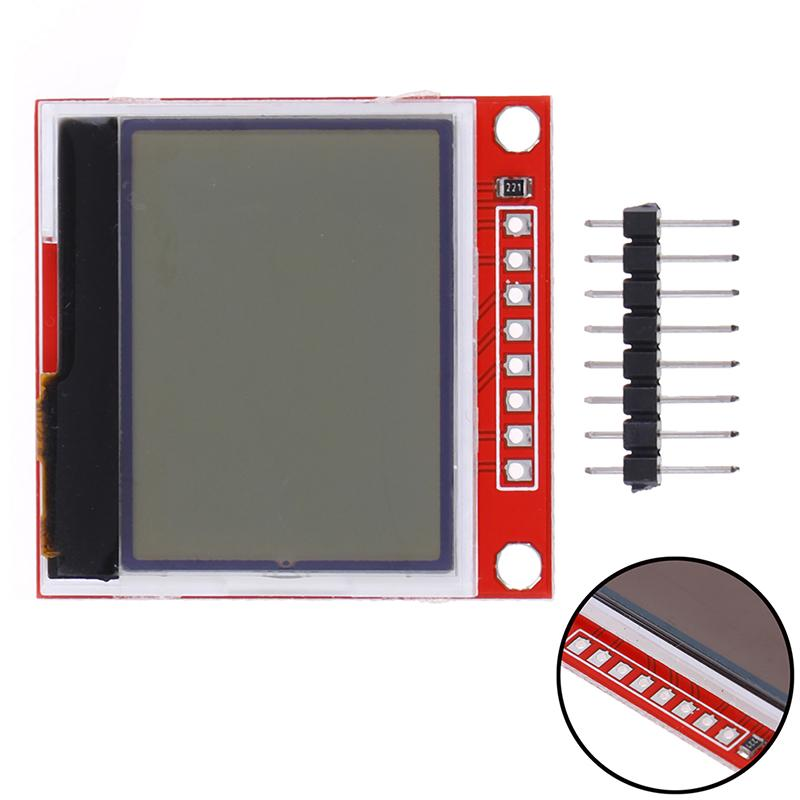 New HX1230 LCD Module Backlight Adapter LCD Display Screen ES