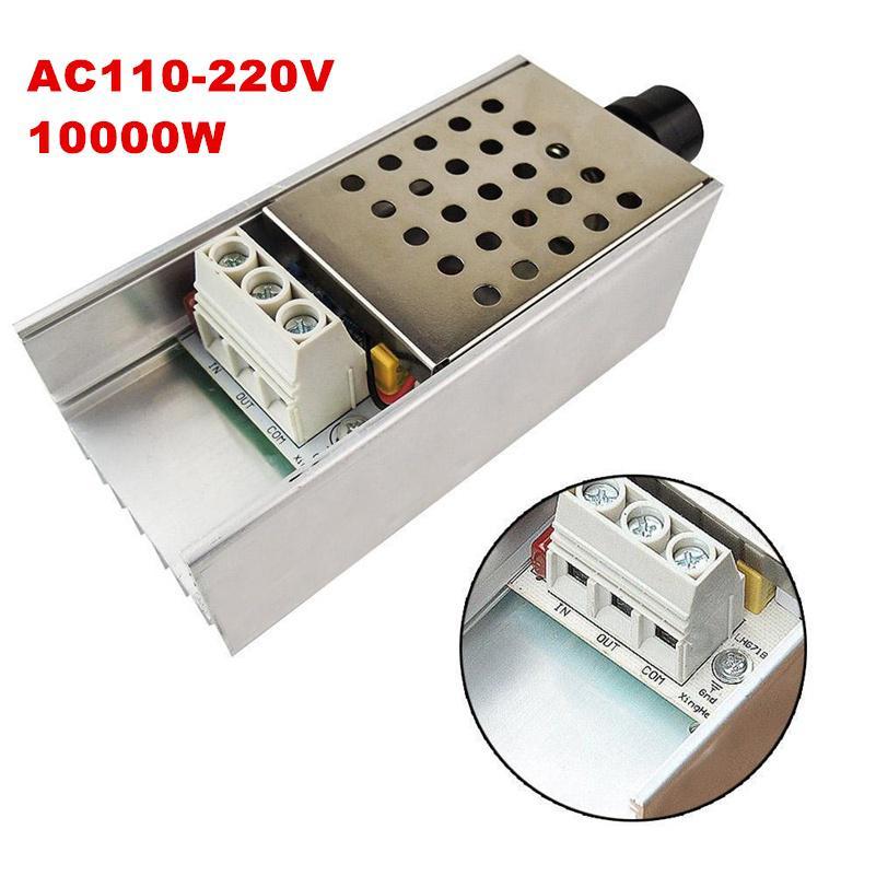 New AC110//220V 10000W SCR Motor Speed Control Electronic Voltage Regulator