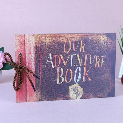Our Adventure Book Pixar Up Handmade DIY Family Scrapbook Photo