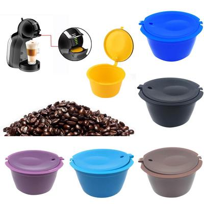 Reusable Coffee Capsule Cup Filter For Nescafe Refillable Brewers