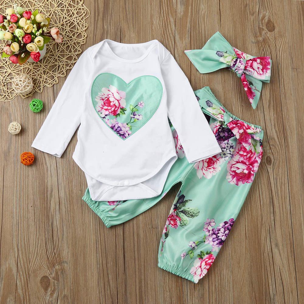 Newborn Baby Girl Dreamcatcher Romper Tutu Skirt Tulle Outfits Clothes 3pcs Set