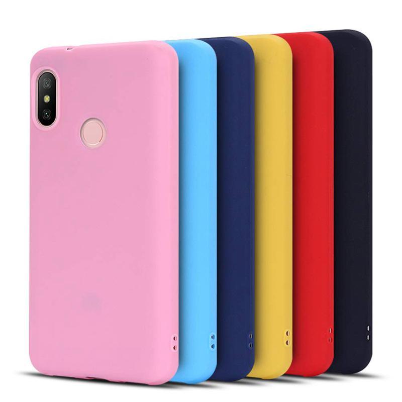 Конфеты цвета силиконовый чехол ТПУ телефон XIAOMI MI 9 8 SE А1 А2 lite RedMI Примечание 7 5 6 Pro 4 5а 6A