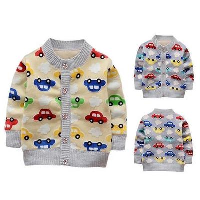 Baby Toddler Girls Knitted Sweater Winter Fall Clothes Tops 1-7 Years Old,Kids Button Warm Woolen Cardigan Coat