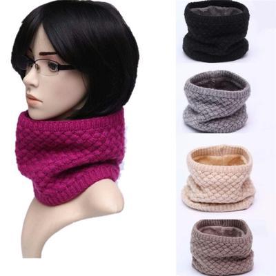 шарфы моды зимой теплый шарф Wome вязаный шарф мужчин воротник