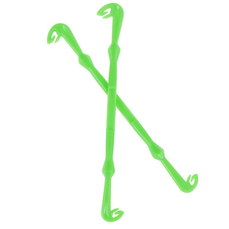 2PCs Hook Loop Tyer//Disgorger Tie Nail Knot Tying Tool Tackle Fly Fishing H W Zh