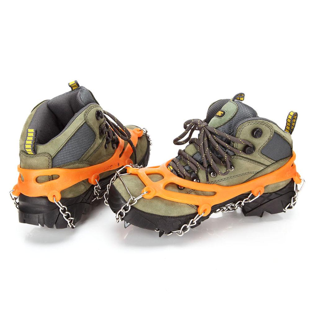 Details about  /8 Spikes Ice Walk Traction Cleats Anti Slip Snow Crampons for Shoes R1BO L