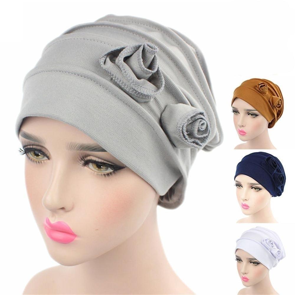 Mujeres turbante cáncer quimio sombrero adecuado holgados gorro de ...