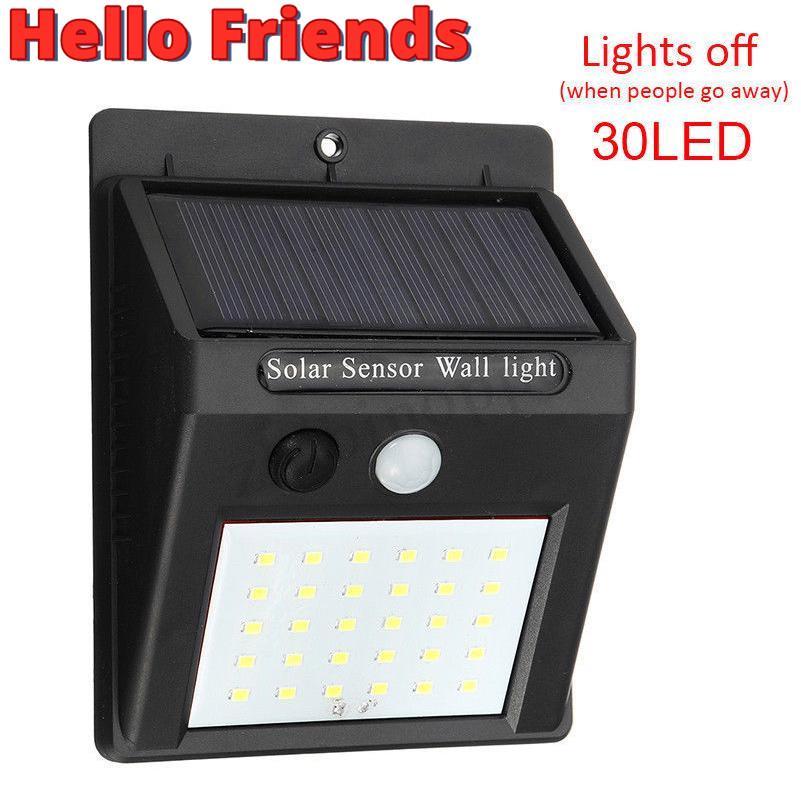 Led Solar Light Outdoor Waterproof Ip65, Motion Detector Led Lights Outdoor