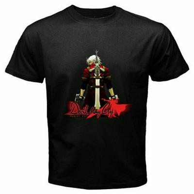 Anime Devil May Cry t-shirt logo short sleeve men and women tops