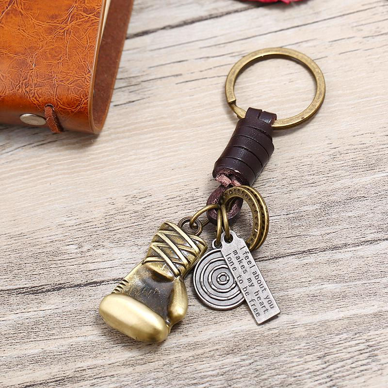 Fashion Car Keychain Silver Color Metal Key Chains Accessory Vintage pineapple Key Rings