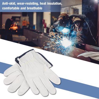 Super Soft Fire Resistant Grain Sheepskin Gloves Tig Welding Glove Buy At A Low Prices On Joom E Commerce Platform