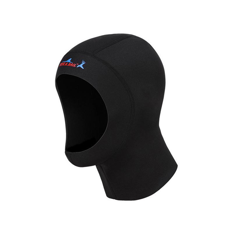 3mm Neoprene Scuba Diving Hood Shoulder Spearfishing Equipment Hat Swim Warm Cap
