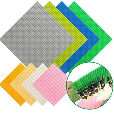 8 Colors 32*32 Dots Base Plate for Small Bricks Baseplate Board Compatible Legoed Figures DIY