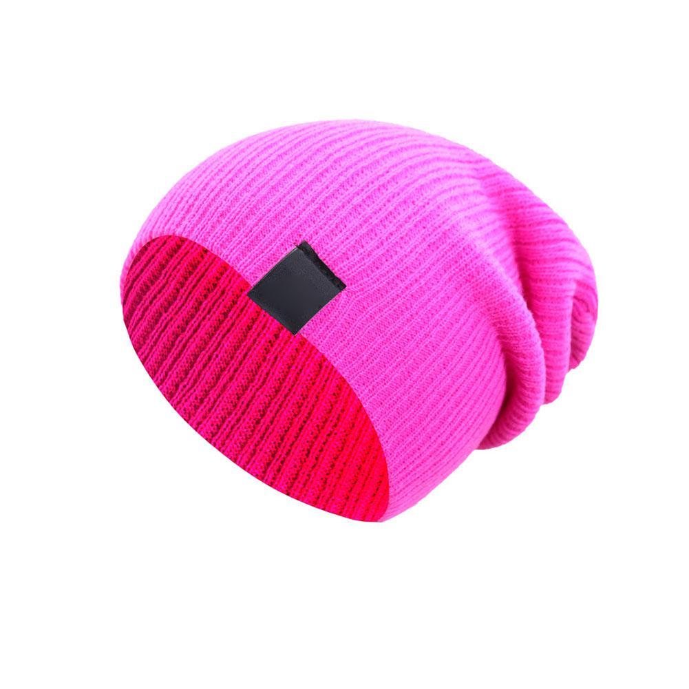 Unisex Winter Hat Soft Beanie Knitted Warm Cap Ski Outdoor Cosy Comfy Hat Bonnet