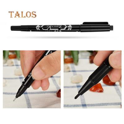 3Pcs Double Ends Temporary Ink Skin Marker Pen Tattoo