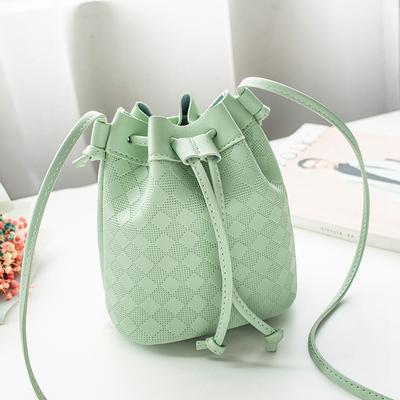 Fashion Lady One-Shoulde Bucket Bag handbag Messenger Bag Mobile Phone Purse Bag