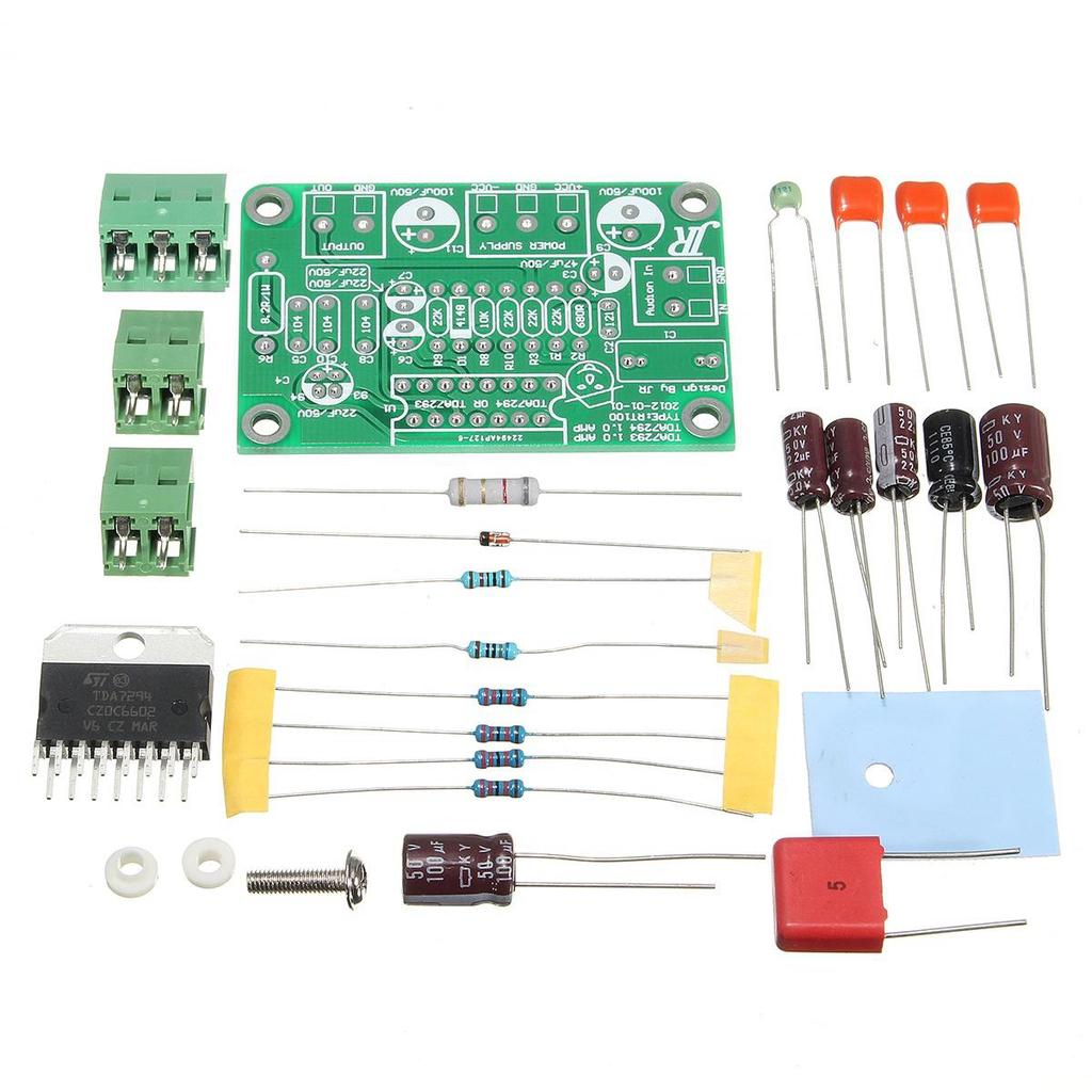 Tda7294 80w Mono Audio Amp Amplifier Board Dc30v 40v Diy Kits Fit 100w Audiio 1 Of 9