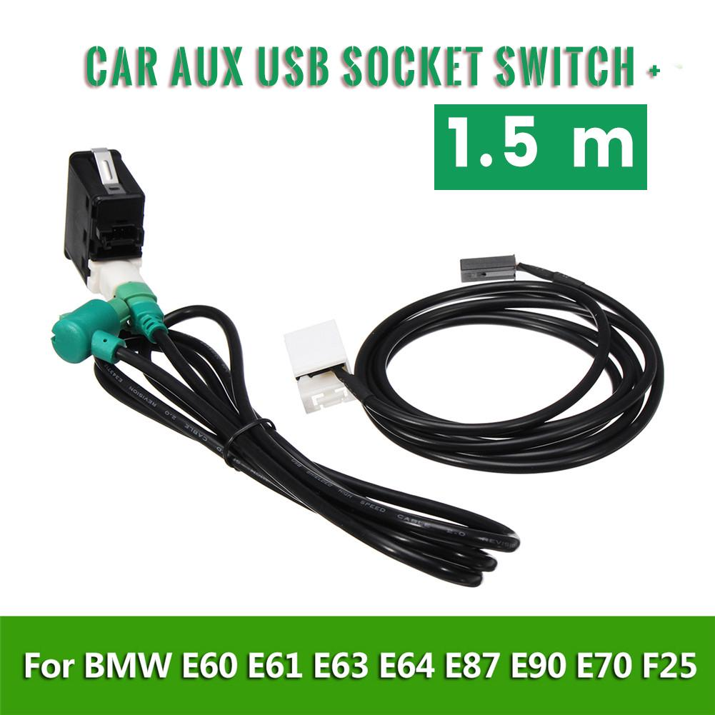 BMW 1 Series E87 Audio Aux Socket