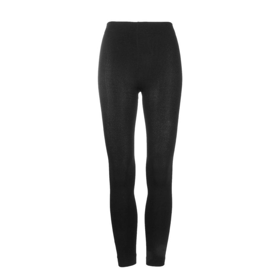 Women/'s Warm Winter Skinny Slim Footless Leggings Stretchy Pants Trousers