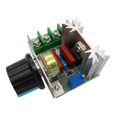 2000W AC 50-220V 25A Adjustable Motor Speed Controller Voltage Regulator PWM SH