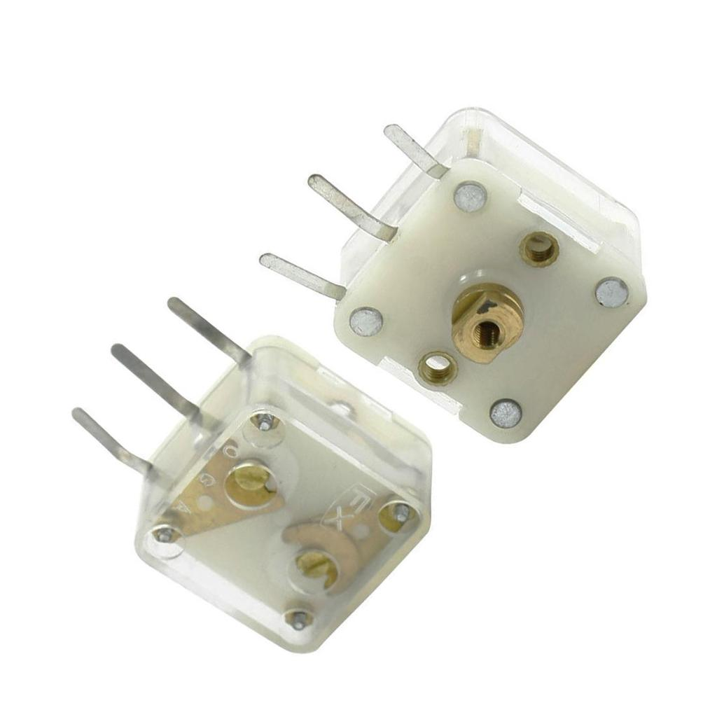 2 Pcs 223F Style Dual 20pF Variable Capacitor for FM Radio