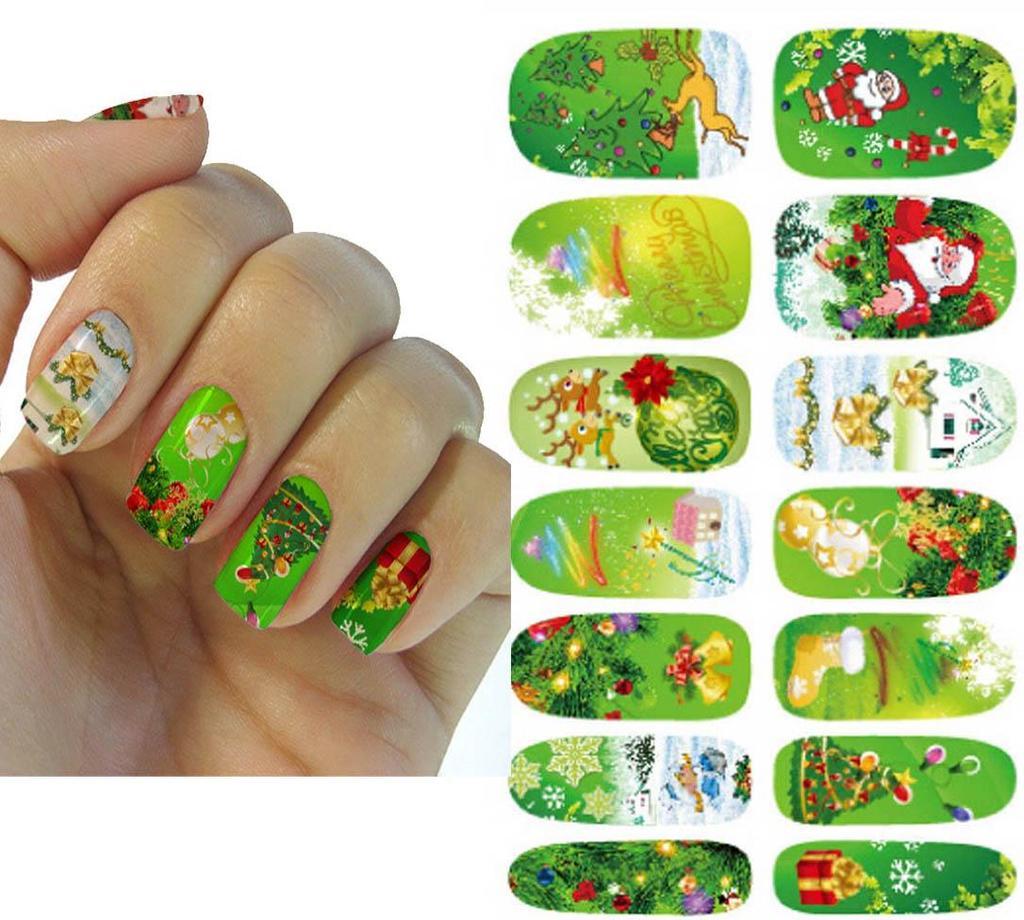 Impresión de pasta de maquillaje uñas Pegatinas uñas de dibujos ...