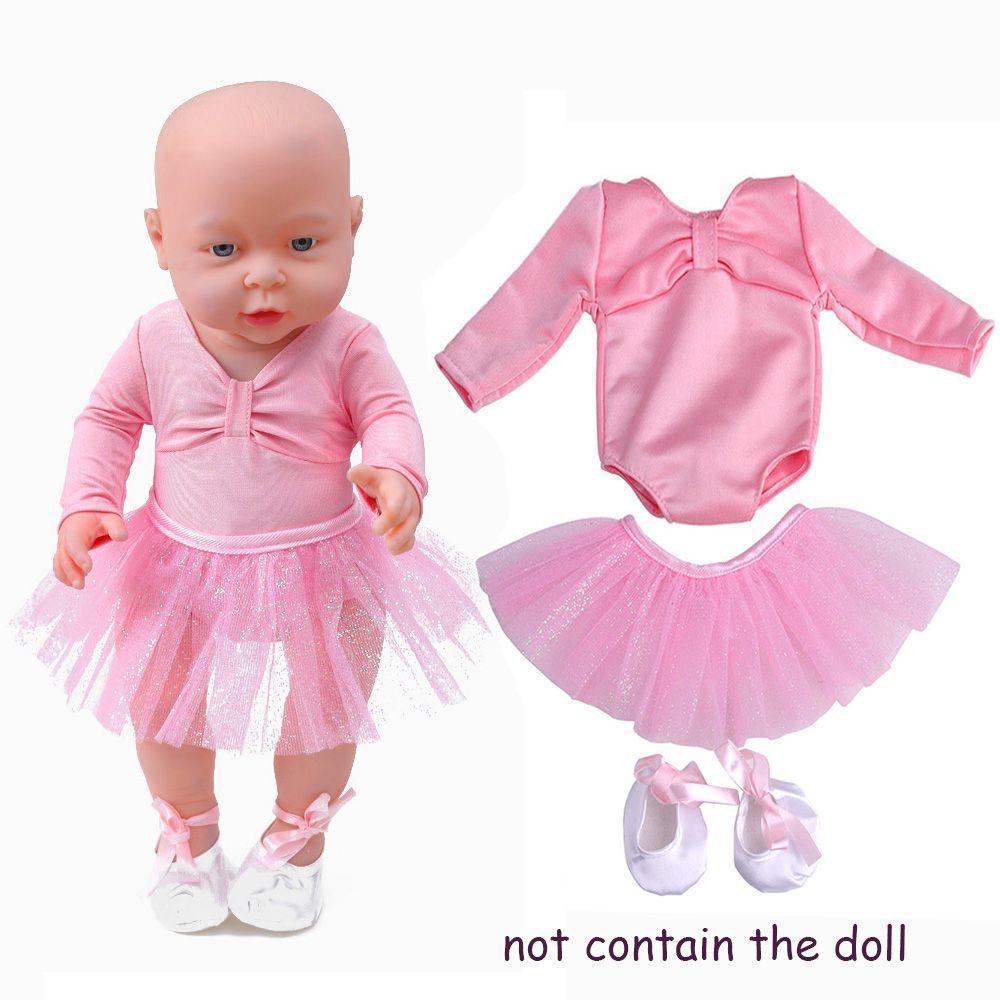 Vestido de 3pcs/set americano niña faldas ropa Ballet trajes traje ...
