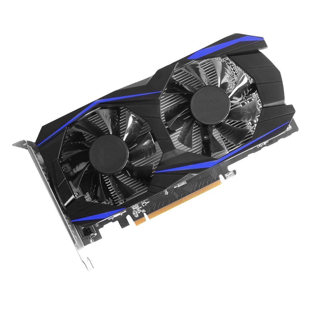 Retrofit GTX1050TI 4G DDR5 128bit Gaming Video Graphics Card w/Cooling Fans