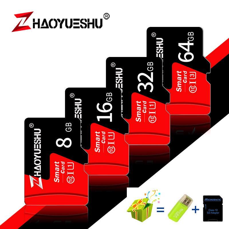 Высокоскоростная карта памяти Micro SD Class 10 Карта памяти Mini TF Flash Stick Card – купить по низким ценам в интернет-магазине Joom