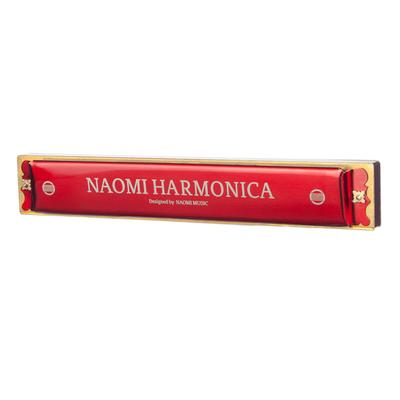 ammoon Tremolo Harmonica Mouth Organ Swan 2-in-1 Dual-sided Dural Key of C/&G 24