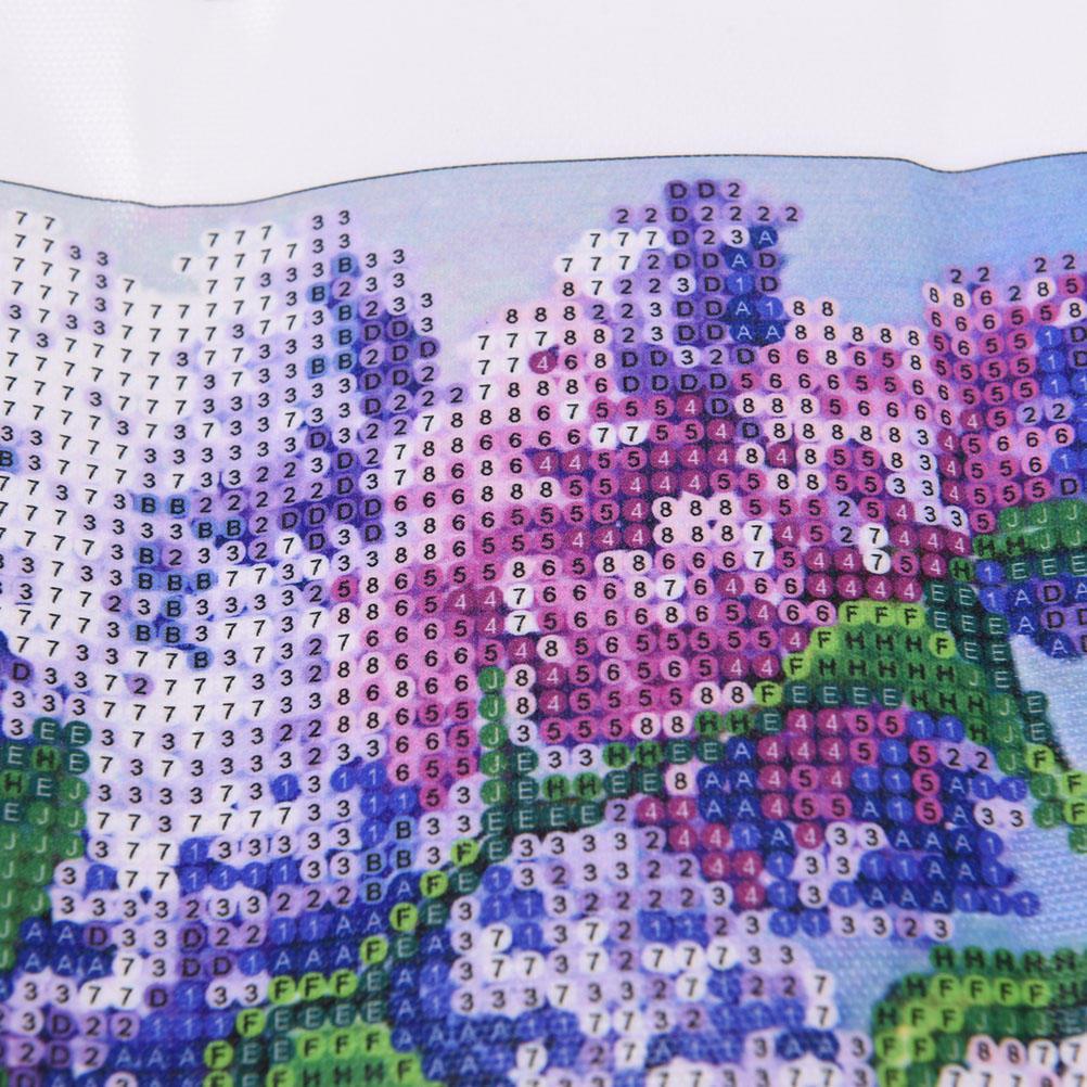 DIY 5D diamante mosaico lavanda pintura cruz puntada Kits bordado ...