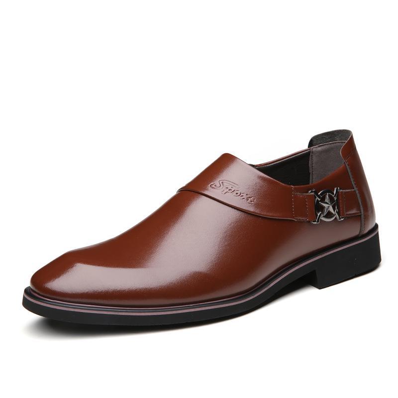 Details about  /British Men Retro Carved Pointy Toe Slip On Formal Groom Shoes OxfordsWen03