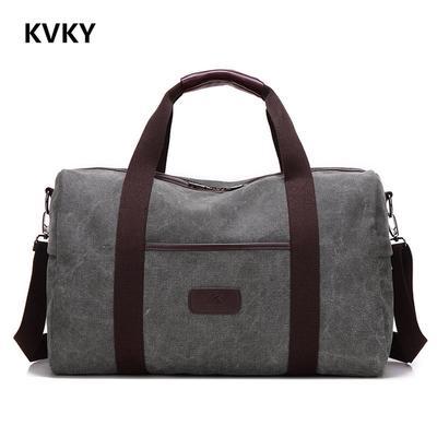 cb4292a99359 Новый старинные мужчин холст сумочка высокого качества путешествия мешки  большой вещевой женщин Камера потенциала складные