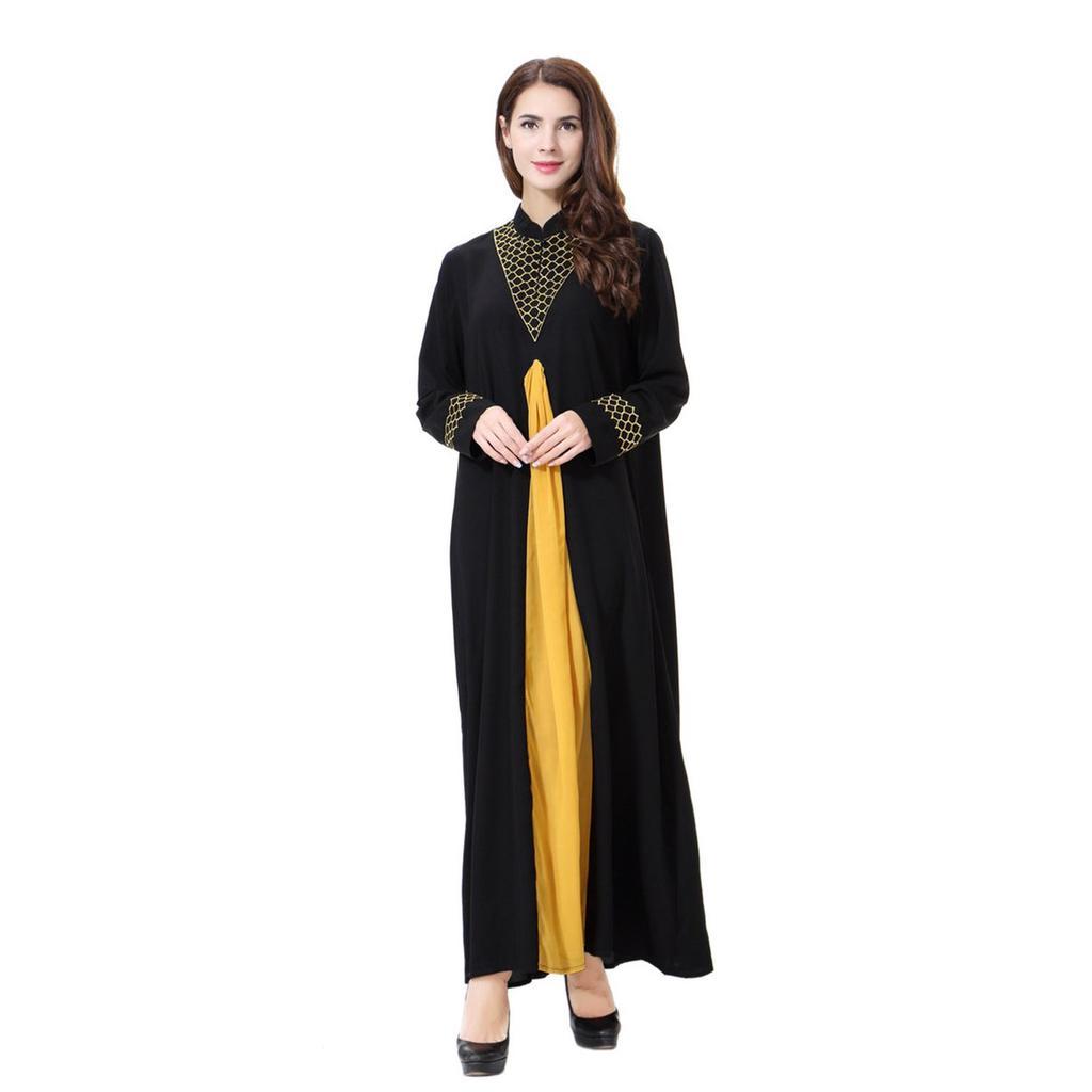 305130381500  ABC  Abaya Arabo Turchia Medio Oriente Cardigan Dress manica lunga  preghiera Abito da donna – acquistare a basso prezzo nel negozio online Joom