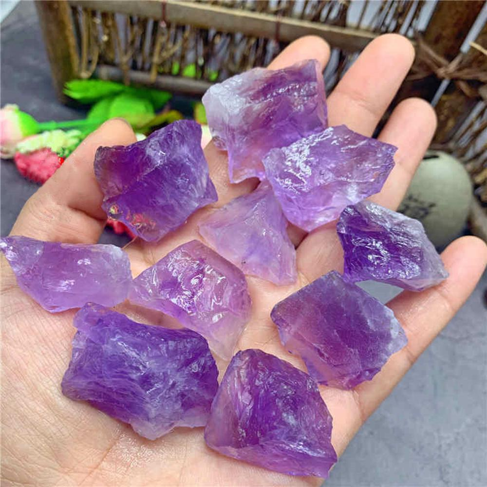 Natural Amethyst Crystal Point  Brazilian Amethyst Crystals Point Collection Crystals