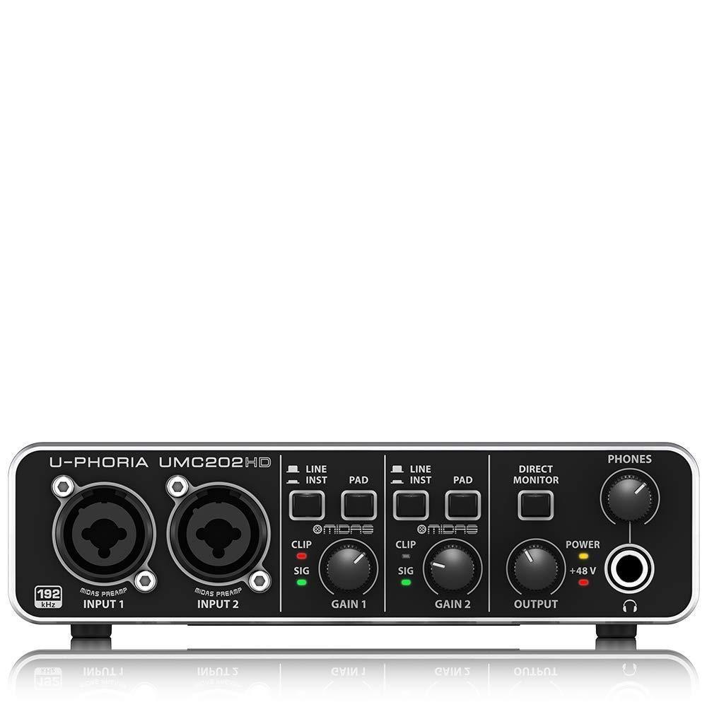 BEHRINGER U-PHORIA UMC202HD, 2-канальный – купить по низким ценам в интернет-магазине Joom