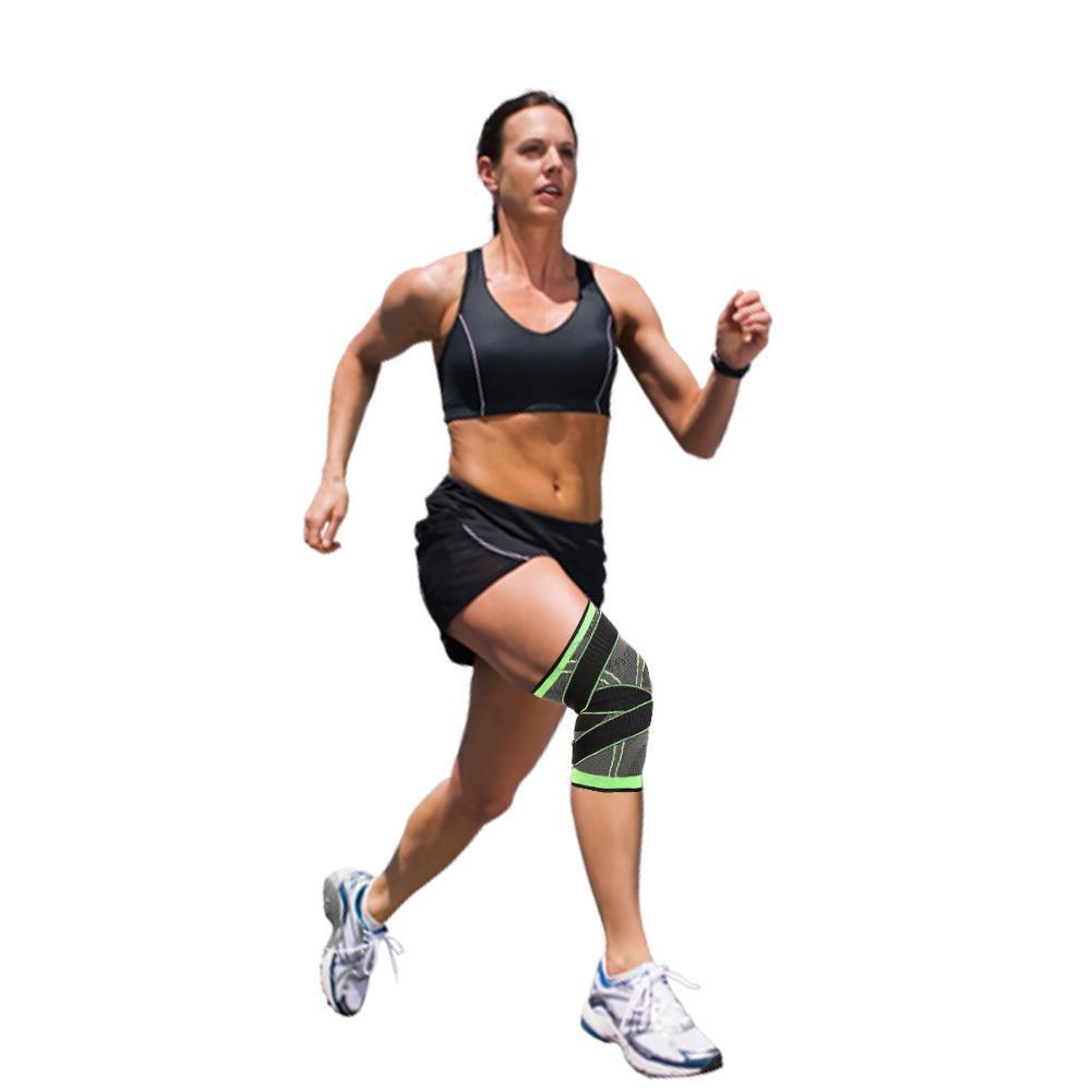 3D Weaving Pressurization Bandage Knee Support Protector Knee Guard Brace