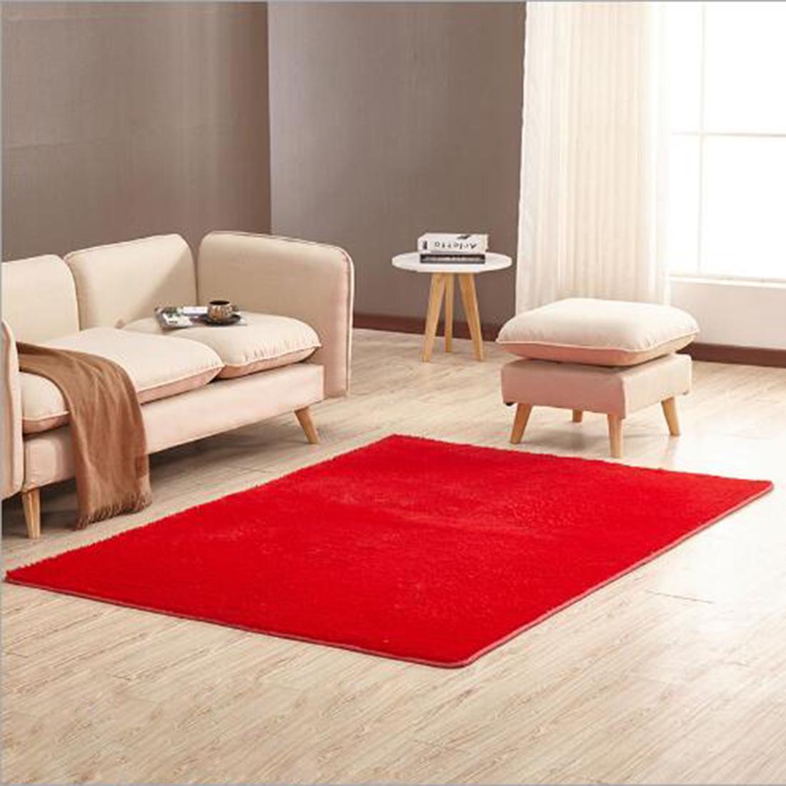 应用定制卧室客厅的桌子上雪尼尔地毯雪尼尔地毯不同规模160 * 230CM