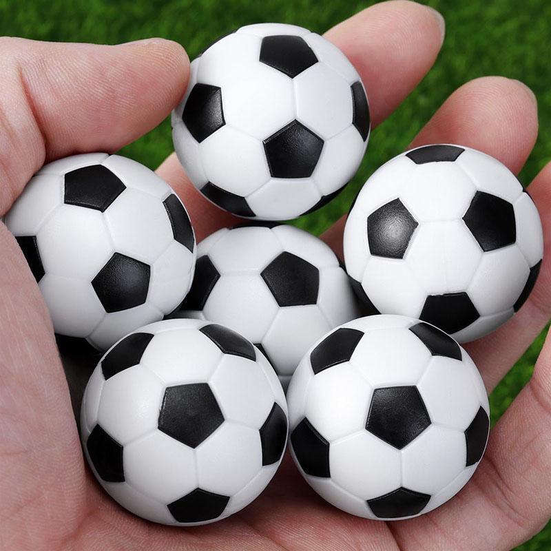 6pcs Mini Soccer Table Foosball 32mm Kicker Ball Spare Balls Indoor Game