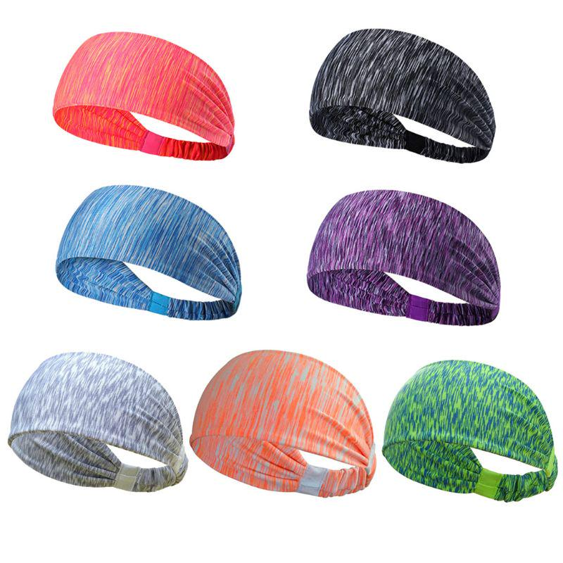 Sports Running Jogging Yoga Gym Fitness Sweat Sweatband Headband Hair Band MP
