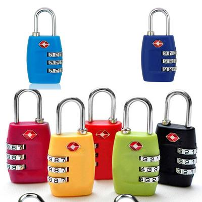 Portable TSA Approved Security Luggage Lock 3-Digit