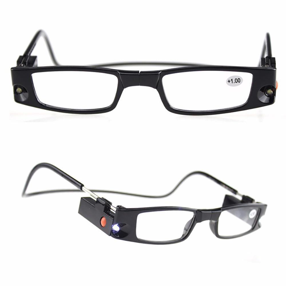 80ced3038e DYT lupa magnética lectura gafas LED gafas de presbicia gafas ...
