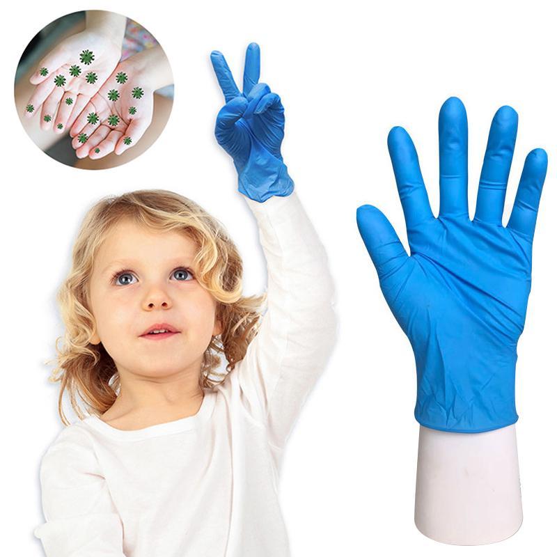 Одноразовые перчатки водонепроницаемые перчатки для детей одноразовые перчатки Антистатический латекс здравоохранения 20шт – купить по низким ценам в интернет-магазине Joom