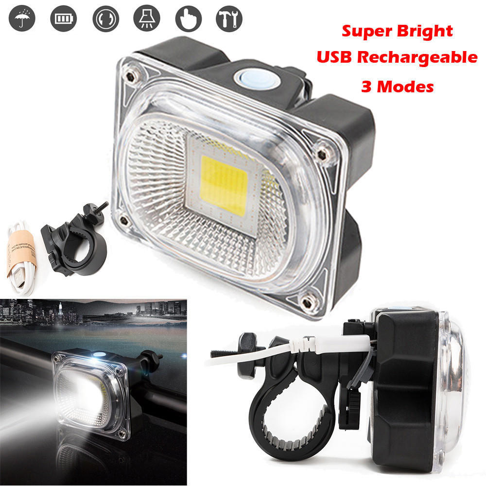Adjustable High Light Bicycle Headlight USB Charging Lamp 3 Mode X3 T6 LED Bike Head Light Cycling Front Lamp